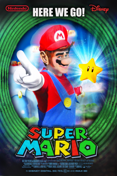 Super Mario Movie Poster Character: Mario ————————————————————————————————————— Like me on facebook https://www.facebook.com/pages/Nintentoys-ニンテントイズ/167935863274286?ref=ts&fref=t ************************************************