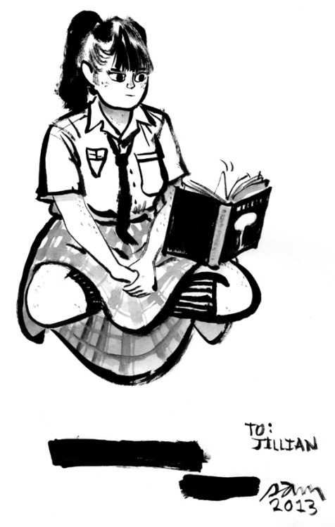 mutantmagic:  A new student, courtesy of the incredible Sam Hiti. Thanks, Sam!  You should be reading SMMA!