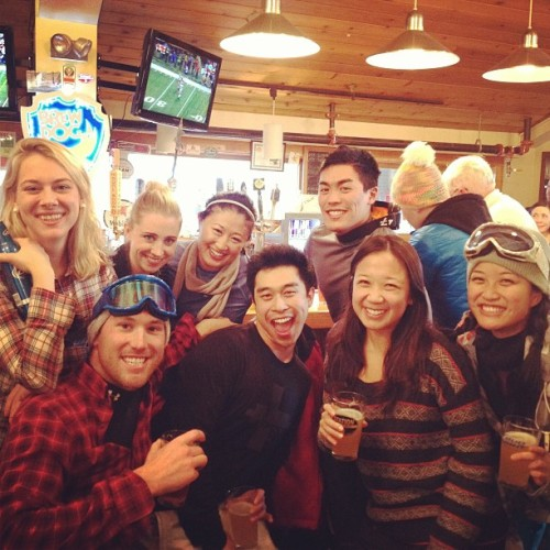 Dream team après ski! (at Station Tap Room)