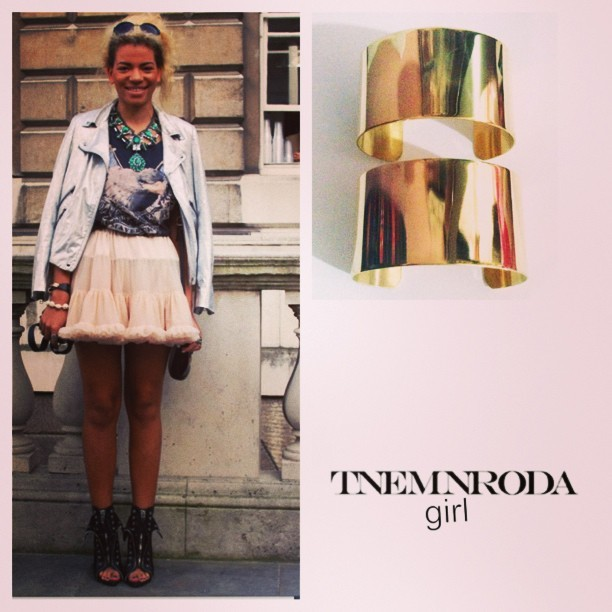 omotumbls:  Are you a #tnemnrodagirl ? #elevatedtrend #boss #influential #fashion #jewelry #accessories #trends #love #nycfashion #instagood #instagram #tnemnroda #tnemnrodagirl #newdesigner #lookbook #2013