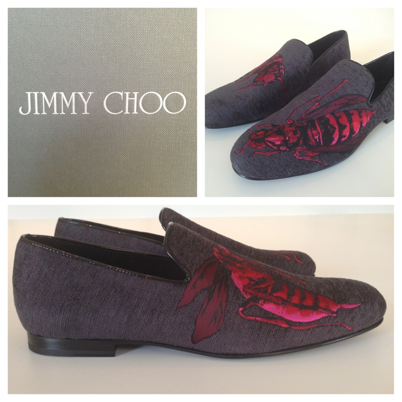 The Bee's Knees  Shop the Jimmy Choo Wasp Slipper now > http://mr-p.co/3uNdik