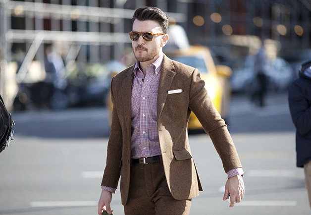 vivekpaul:  Great GQ Street Style in NYC