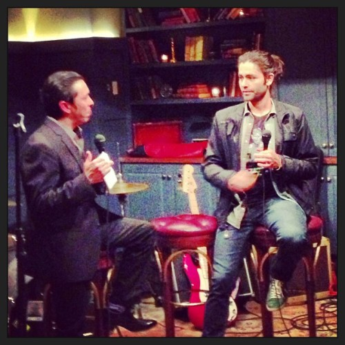 Listening to @adriangrenier and @briansolis talk music and startups. (at SoHo House)