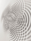 Loris Cecchini's physical installation Wallwave Vibrations. From @Colossal