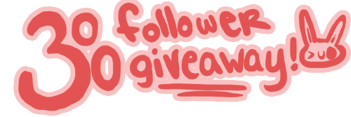 edwarddteachmehowtobuggy:  Hello! As of today, I've reached 300 followers, and to commemorate this momentous occasion, I'm hosting a giveaway!   What you'll win Any figure from amazon (or any other reliable figure site) worth up to 50 USD (shipping not included) Any wig from a reliable site up to 35 USD (shipping not included) I'll commission a piece for you, anything you want!  You don't have to be following me, but if you do, and you win, you'll get an extra special something at the end! Shipping internationally will not be an issue! It will end on June 30 at 11:59 EST, and I will be picking a winner immediately after using a random number generator. Likes don't count, only reblogs, and as many times as you want (without upsetting your followers)! Sideblogs are fine, but not giveaway blogs.  Make sure you keep your ask boxes open, as that is how I'll be contacting you! I will wait three days after the giveaway ends. If you do not answer by July 3, I will be picking a different winner. Thank you, and good luck! >uo