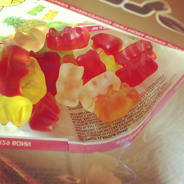 definitelynotfake:  Haribo Goldbären • Tasty Fruity Chewy #gummybears #sweettooth