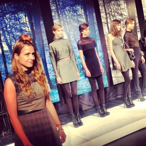 @charlotteronson #nyfw  (at Mercedes-Benz Fashion Week)