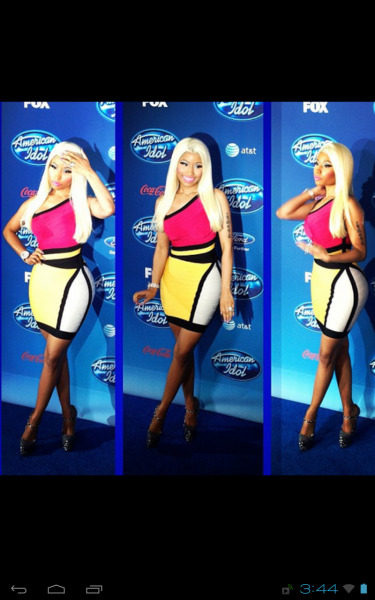 Miss Nicki Minaj. American Idol starts on Jan. 16th !!!