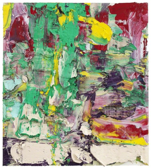 andrewharlow:  Zhu Jinshi Spring Offerings No. 2, 2012Oil on canvas