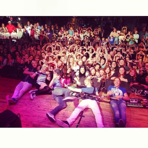 We love u Kansas!