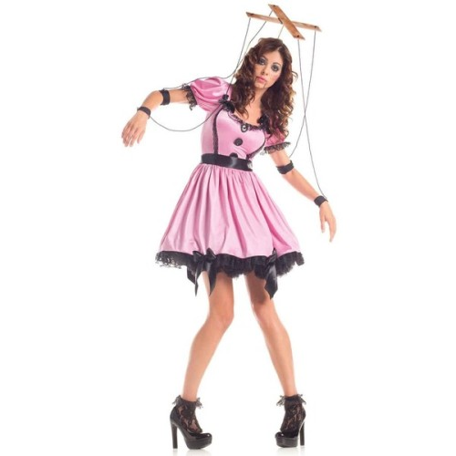 Adult gothic rag doll costume