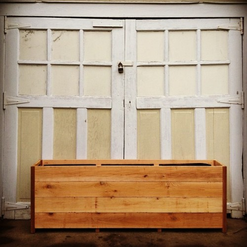 Custom Cedar Planter | 71x14x24 | th