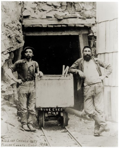 The Last Chance Mine, Placer County, California. 1882.