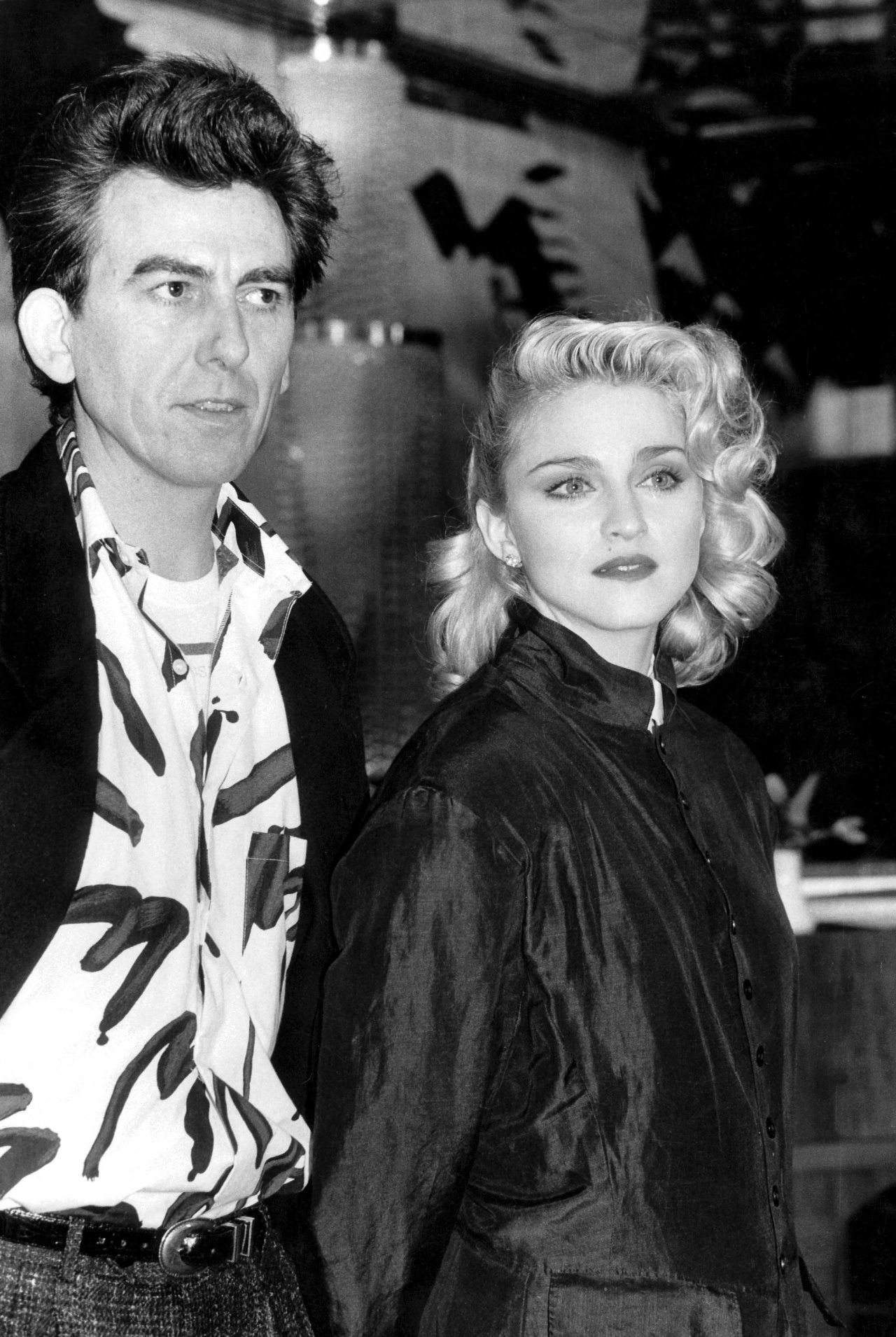 Madonna with George Harrison