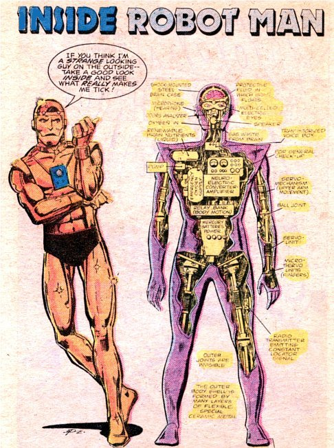 Robotman opens up about his insides