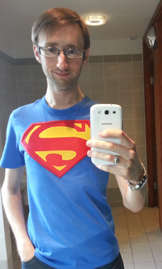 I think that this is my new favourite tshirt! All ready for the Man Of Steel release now!