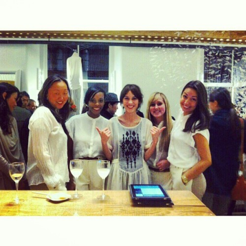 #Recap: Our PR girls with @chungalexa @pas_de_calais store opening.