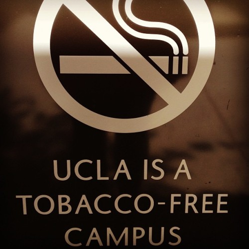 Proud. #UCLA #Smokingisgross