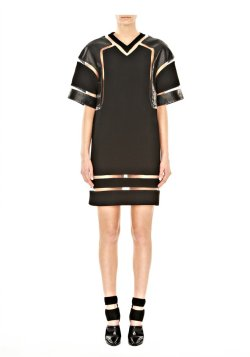 mokison:  FISHLINE HOCKEY JERSEY DRESS by Alexander Wang