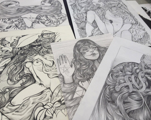 Martine Johanna, an artist I find absolutely amazing, made a zine -Milk- together with a friend and it looks so good -and it has a pretty good price- I really wish I wasn't broke right now…But if you do have the funds, click here, you can also find a neat overview of the zine and its content. BeautifulBeautifulBeautiful *echo*