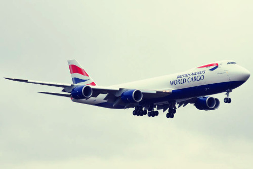 geardownplease:  BA 747 Cargo.Image via Boeing Fan Photography.