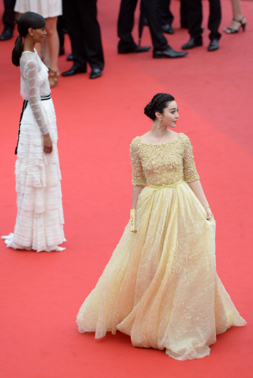 Fan Bingbing in Elie Saab at the 2013 Cannes Film Festival