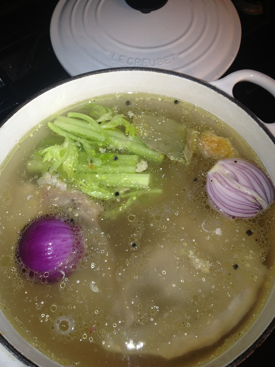 womaninterrupted:  Start to finish Italian Wedding Soup. I even snuck some spinach in with the escarole and carrots. The kids go crazy for this stuff. Best part is making them work for it. I had them roll the mini meatballs.  In case you forgot to track the tag, you should know it's still going strong.