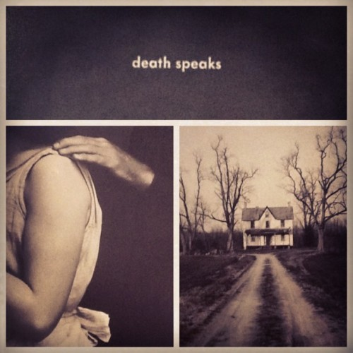 This record is beautifully haunting. #DavidLang #Death #DeathSpeaks #BangOnACan #Cantaloupe #albumart