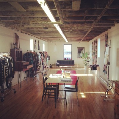 Welcome to the serene @Foundfuture showroom, @ManufactureNY HQ for now. #fashion #werk #sustainable #emerging #indie #redhook #brooklyn #instagood #instagram  (at Red Hook)