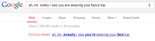 *pats Google* It's okay. You tried.