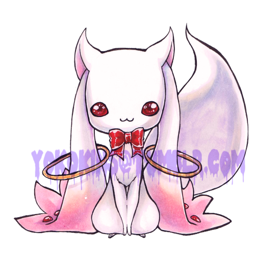Bonus picture for Starlight Deco Dream! Kyubey!Be on the look out for updates from Kyandi's shop, we got some treats in store for you Magical Girl lovers!