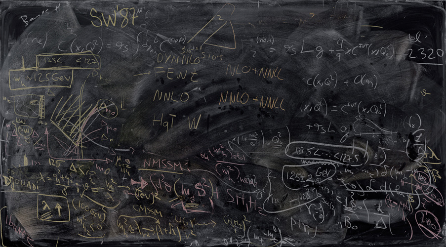 staceythinx:  Alejandro Guijarro photographs the chalkboards of some of the brightest minds in quantum physics for his continuing series Momentum. He went to research facilities like CERN and many of the top universities in the world to find them.