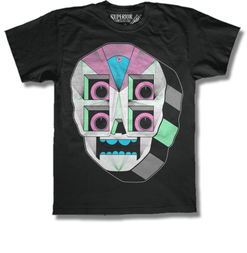 dmcook:  New robot skull color way at www.shirtsanddestroy.com/dm_cook