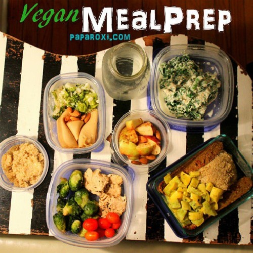 My veggie meal prep for the week is up on Paparoxi.com check out the recipes! Good night #mealprep #vegan #recipe #foodie #weightlifter #training #healthyliving #discipline #fatshred #focused #paparoxi #trainhard #triathlete #instafood #runner #athlete #healthyaddictions