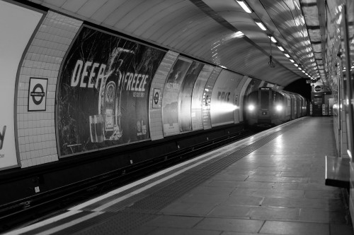 Warren Street, London underground. March 2013.