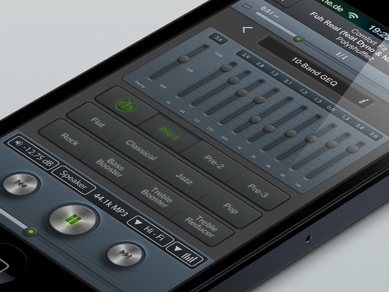 High-End Player UI by @srioz on @dribbble: http://drbl.in/gfvr