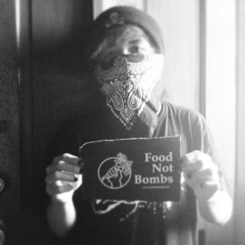Food not bombs patch. #anarchism #foodnotbombs #fnb #anarchist #antifa #anarchy #philippines