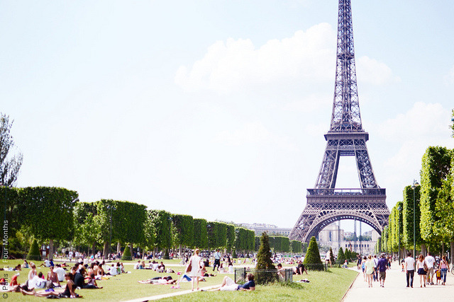 | ♕ |  Eiffel at Champ de Mars, Paris  | by © Carin Olsson