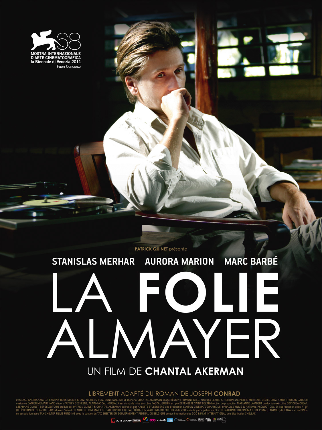Almayer's Folly directed by Chantal Akerman, starring Stanislas Merhar, Aurora Marion and Marc Barbé. That's got to be the tune from Melancholia right