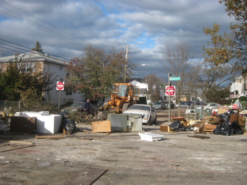 Staten Island. Debris clean up.