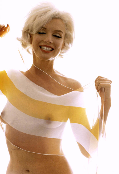 Marilyn Monroe by Bert Stern, 1962.