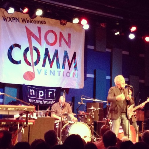 Tom Jones at #Noncomm @wxpnfm