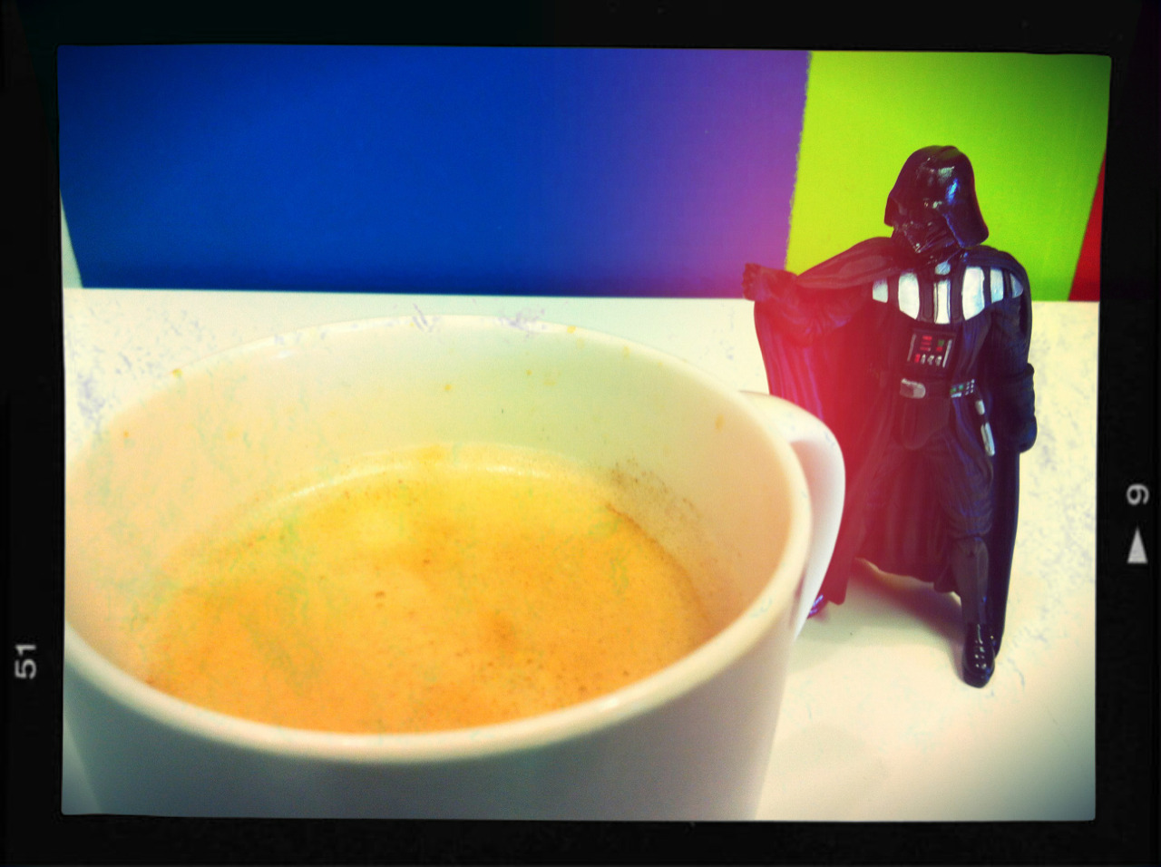 Vader finds your lack of caffeine disturbing…