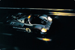 timewastingmachine:  Porsche 956 at 24 Hours of Le Mans 1982