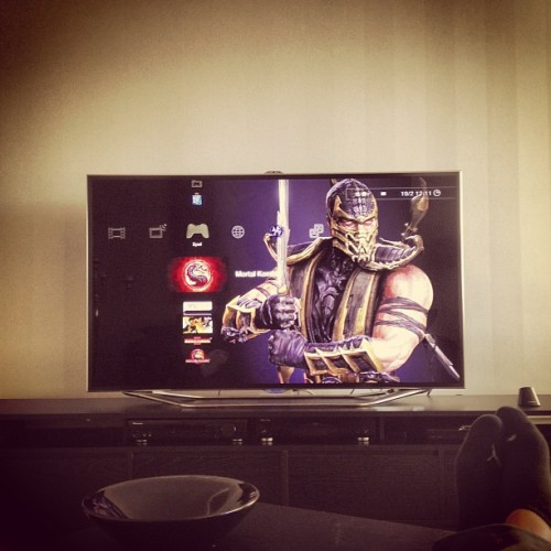 #mortal#kombat#9#tv#samsung#65tums#ig#igers #instagram #instagrammers #picoftheday #photooftheday #bestoftheday #game#time#sweden #luleå #fatality#fight#