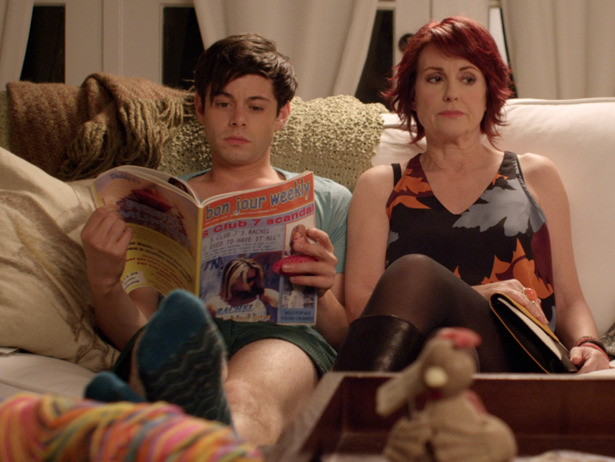 Exclusive Video: Watch Megan Mullally attempt to bond with Paul Iacono in a scene from G.B.F.