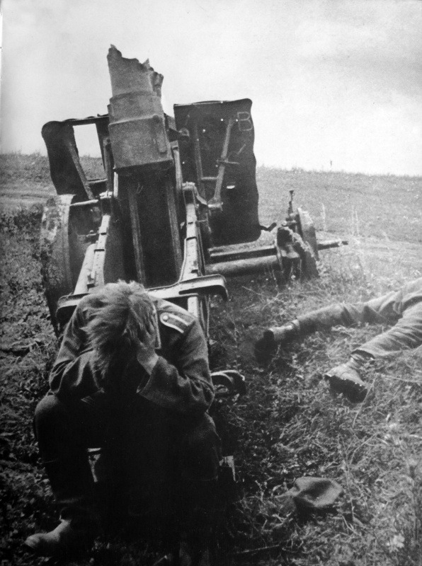 Eastern Front, 1943 (via English Russia)