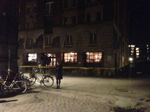 Cph, back alley jazz concert