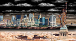 mothernaturenetwork:  Artist envisions NYC on other planets In hopes of inspiring others to appreciate Earth, Nickolay Lamm transplanted the Big Apple to all of the planets in our solar system.