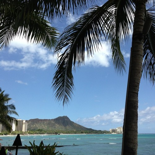#Diamondhead #Waikiki #Beach #Hawaii